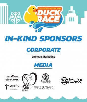Corporate In Kind Sponsors