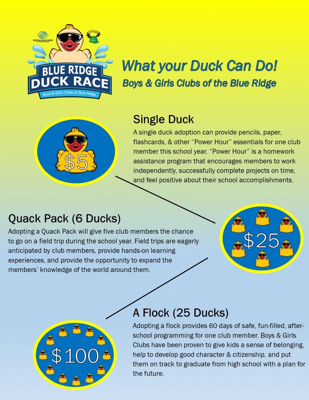 Blue Ridge Duck Race
