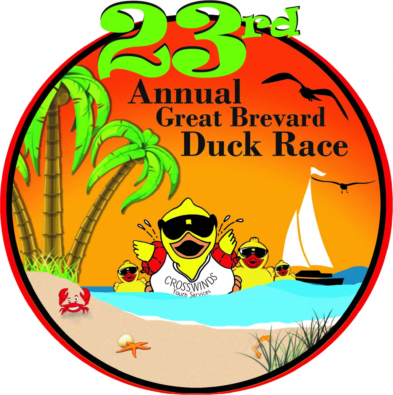 The 23rd Annual Great Brevard Duck Race